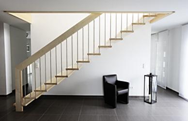 geradl ufige treppen. Black Bedroom Furniture Sets. Home Design Ideas