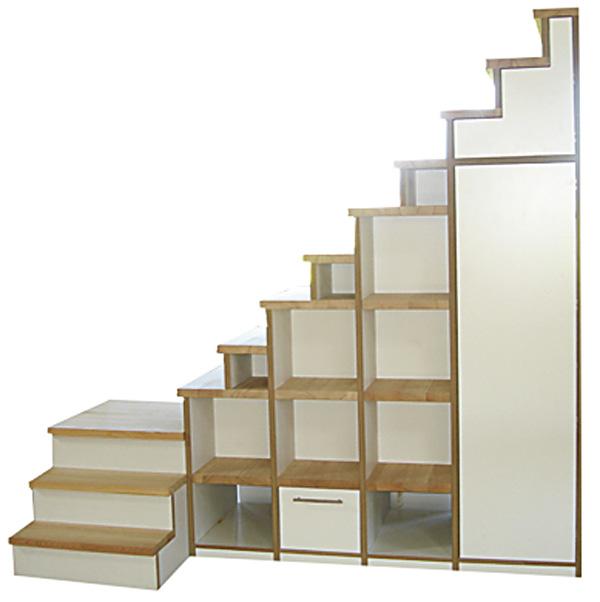schranktreppe. Black Bedroom Furniture Sets. Home Design Ideas